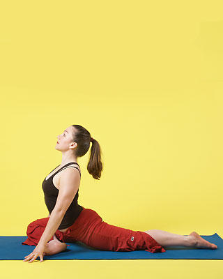 pigeon pose and back pain  general yoga  yogaforums